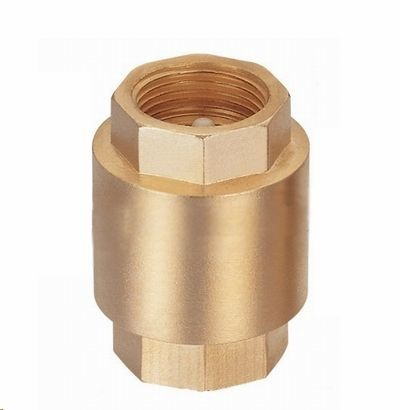"Brass Vertical Check Valve Size From ½"" Up to 2"" Connect By Thread BSP NPT"